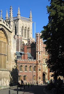 St. John's College, Cambridge, UK from where Dr Manmohan Singh graduated with a First in Economics in the late 1950s